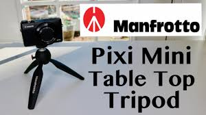 manfrotto table top tripod kit manfrotto mtpixi b pixi mini table top tripod review