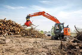hitachi excavators make their mark in denmark highways today