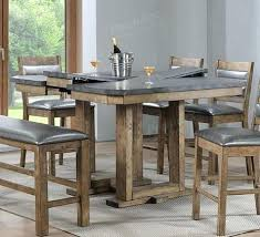 rustic pub table and chairs rustic counter height table the dining room from furniture chairs
