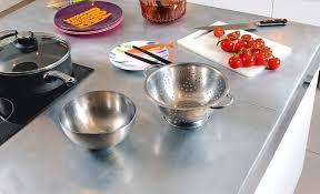 plaque de zinc pour cuisine un plan de travail en zinc bricolage