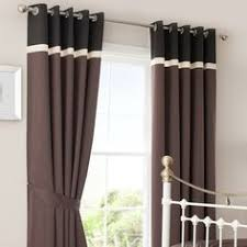 Chocolate Curtains Eyelet Plum Lace Thermal Eyelet Curtains Dunelm Curtains