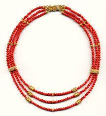 coral beads necklace images Coral bead necklace with 24k bali silver jpg