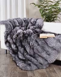 Cheap Faux Fur Blanket Fur Blanket Etsy Black Bedding Il Full Msexta