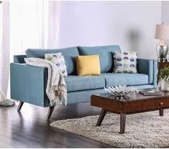 Modern Blue Sofa Mid Century Modern Sky Blue Sofa