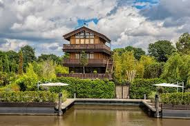 chalet house the swiss chalet peek inside the ultimate riverside property