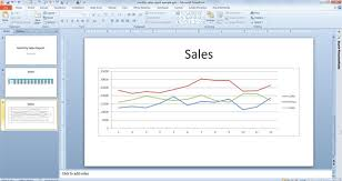 dynamically link charts u0026 tables in excel 2010 with powerpoint