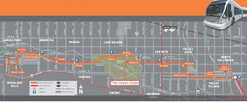Metro Expo Line Map by Orange Line Map Jpg