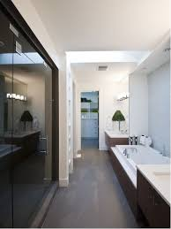 narrow bathroom designs narrow bathroom houzz