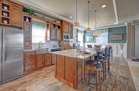 manufactured homes kitchens redman homes