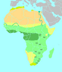 africa map climate zones regions 6th grade world studies
