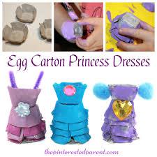 pretty egg carton dresses u2013 the pinterested parent