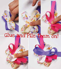 ribbon hair bow diy hair bow tutorial android apps on play