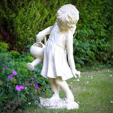 watering the garden photo from garden ornaments direct