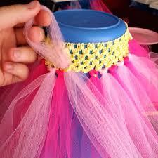 crochet headband tutu fengrise 11 pieces crochet headband baby shower tulle spool tutu