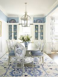 blue dining rooms dining rooms beach style dining room in classy blue and white