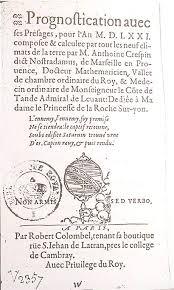 chambre post ieure de l oeil repertoire chronologique nostradamus 1568 1599