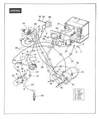 golf cart wiring diagram with basic pictures for columbia par car
