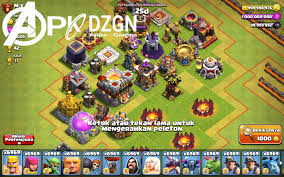 clash of 2 mod apk clash of heroes coc fhx mod apk server v1 2 apkdzgn