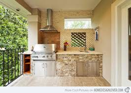 ideas for outdoor kitchens 15 awesome contemporary outdoor kitchen designs home design lover