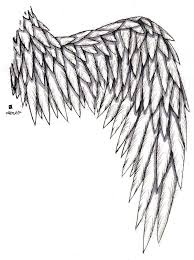 wing tattoo by lajolly on deviantart