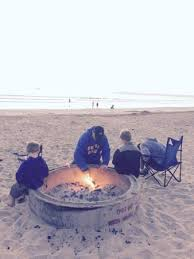 Beach Fire Pit by Big Fire Pits On The Beach To Use Picture Of Silver Strand