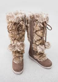 s boots with fur belinda fur boots in