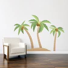 28 palm tree wall stickers palm tree wall decals 2017 palm tree wall stickers palm tree island printed wall decal