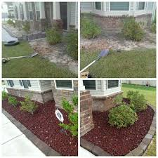 Rock Garden Florida Flower Bed Rocks Robinsuites Co