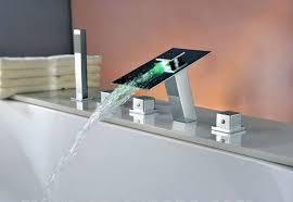 Waterfall Bath Faucets Waterfall Bathroom Faucet