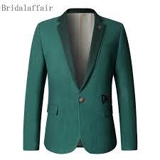 casual blazer 2018 smart casual blazer jacket fashion green tweed blazers