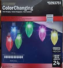 gemmy lightshow gemmy lightshow 24 5 ft 24 count multi color light