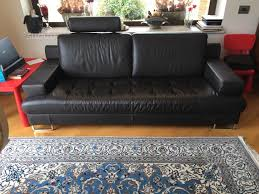 marca divani coppia di divani in pelle marca doimo arredamento e casalinghi