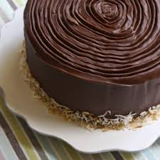 4 layer inside out german chocolate cake this is delicious i can