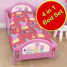 peppa pig u0026 george pig duvet quilt covers u2013 toddler single