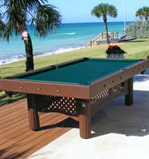 traditional tables outdoor pool tables