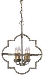 quatrefoil chandeliers houzz