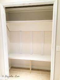 how to turn a closet into a mudroom 11 magnolia lane