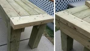 Picnic Table With Benches Plans 77 Diy Bench Ideas U2013 Storage Pallet Garden Cushion Rilane