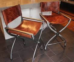 Kitchen Island Chairs Or Stools Kitchen Stool Director Chairs All Raw Steel Wrapped In Thick