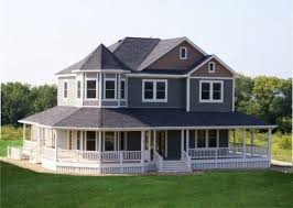 wrap around porch homes country my country home must wrap around