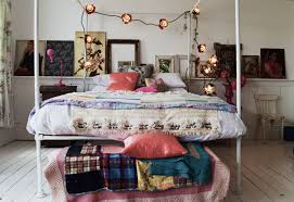 Pink Bed Frames Bohemian Bedroom Inspiration Four Poster Beds With Boho Chic Vibes