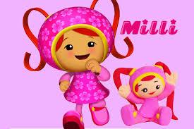 making milli team umizoomi play doh