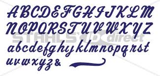 custom cut letters u0026 numbers stahls u0027