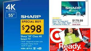 friday 2017 tv doorbuster deals to dash for at best buy walmart