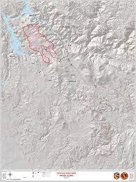 Usfs Fire Map Detwiler Wildfire In Mariposa County Operations Map For Tuesday