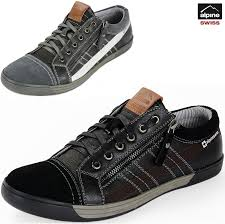 Comfortable Supportive Shoes Alpine Swiss Valon Mens Fashion Sneakers Low Top Dress Or Casual