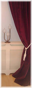 Burgundy Velvet Curtains Sumptuous Burgundy Wine Claret Velvet Curtains All Sizes Mtm
