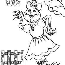 scarecrow coloring pages 17 printables color halloween