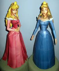 disney universe princess aurora pink u0026 blue dress depapercraftblog