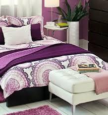Duvet Cover Purple Lilac U0026 White Ikea Lyckoax Duvet Cover Purple Bedroom Ideas